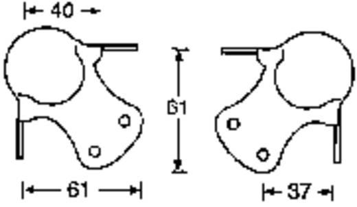 Lautsprecher-Ecke Stahl verzinkt 304420 4 St.