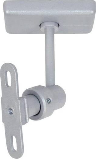 Lautsprecher-Deckenhalterung Neigbar, Schwenkbar, Drehbar Boden-/Deckenabstand (max.): 11.5 cm B-Tech BT-34 SILVER Grau
