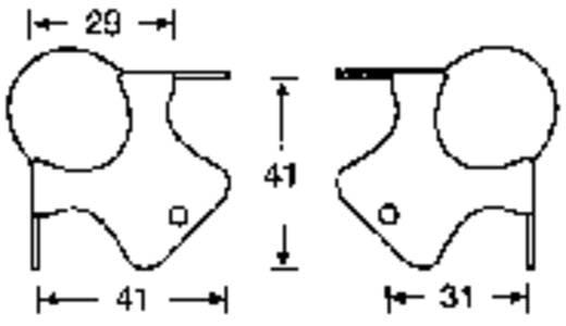 Lautsprecher-Ecke Stahl verzinkt 4111 1 St.