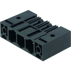 Konektor do DPS Weidmüller SU 10.16HP/03/270SF 3.5AG BK BX 1851130000, 50.80 mm, pólů 3, rozteč 10.16 mm, 50 ks