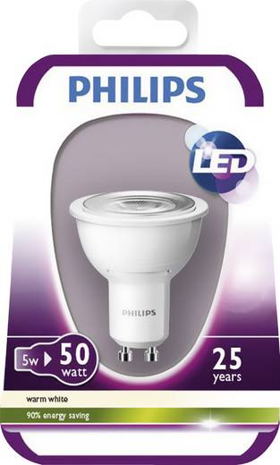 philips led leuchtmittel mr16 gu10 4 5w warm wei. Black Bedroom Furniture Sets. Home Design Ideas