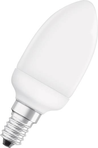 Energiesparlampe OSRAM 230 V 6 W = 25 W EEK: A Kerzenform 1 St.