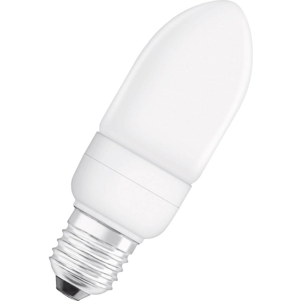ampoule conomie d 39 nergie osram e27 9 w 40 w blanc chaud forme de bougie 1 pc s. Black Bedroom Furniture Sets. Home Design Ideas