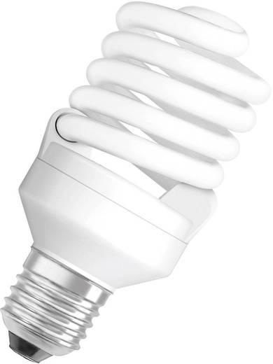 Energiesparlampe OSRAM 230 V E27 21 W = 100 W Warm-Weiß EEK: A Spiralform Inhalt 1 St.