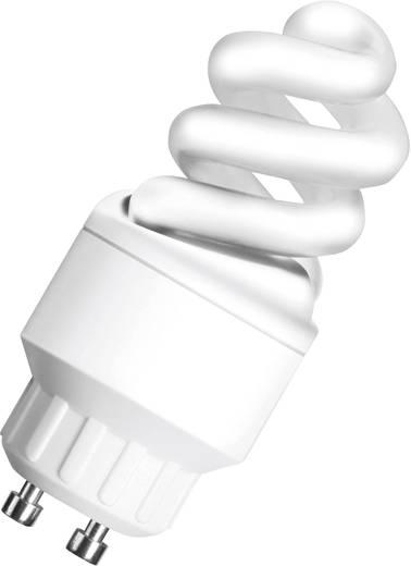 Energiesparlampe OSRAM 230 V GU10 5 W = 25 W Warm-Weiß EEK: A Spiralform Inhalt 1 St.