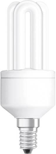 Energiesparlampe 124 mm OSRAM 230 V E14 11 W = 51 W Warmweiß EEK: A Röhrenform 1 St.