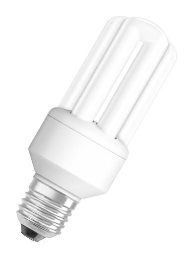Energiesparlampe OSRAM 230 V E27 11 W = 51 W Warm-Weiß EEK: A Röhrenform Inhalt 1 St.