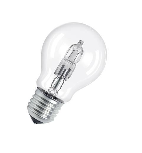 Eco Halogen 94 mm OSRAM 230 V E27 77 W Warm-Weiß EEK: D Glühlampenform dimmbar 1 St.