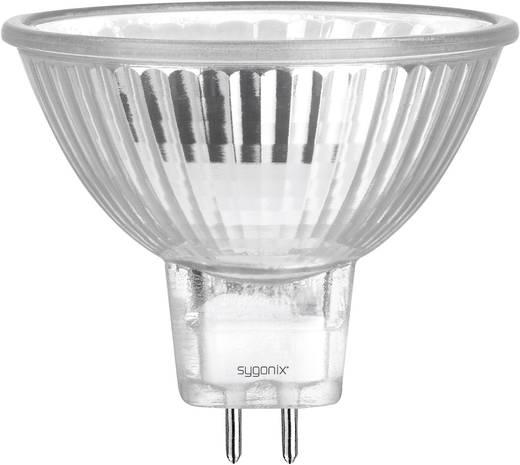 Eco Halogen 49 mm Sygonix 12 V GU5.3 20 W Warm-Weiß EEK: C Reflektor dimmbar 1 St.