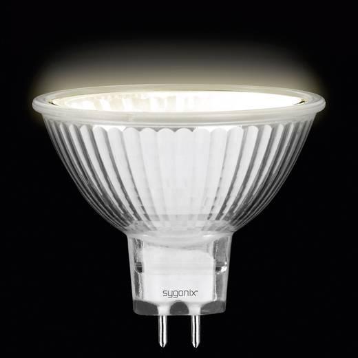 Eco Halogen 49 mm Sygonix 12 V GU5.3 35 W Warm-Weiß EEK: C Reflektor dimmbar 1 St.