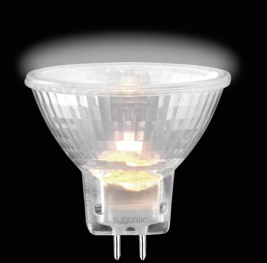 Eco Halogen Sygonix 12 V G4 35 W Warm-Weiß EEK: C Reflektor dimmbar 1 St.