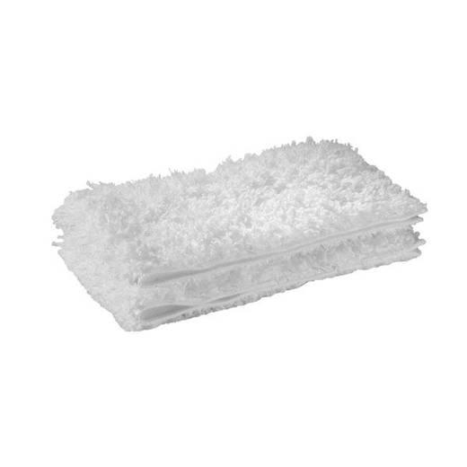 Microfasertuch Kärcher Tuchset für Bodendüse Classic und Comfort 2 St. Weiß