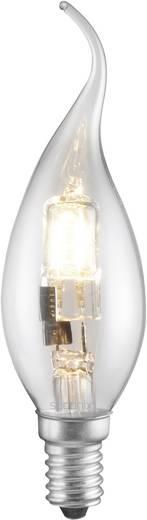 Eco Halogen 125 mm Sygonix 230 V E14 42 W Warm-Weiß EEK: C Kerzenform dimmbar 1 St.
