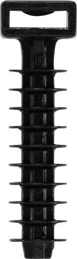 Befestigungssockel für Steckmontage im Mauerwerk Weidmüller 1859410000 CBFP 43.5/10 BLACK 100 St.