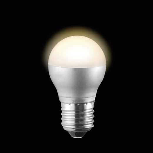 LED E27 Tropfenform 4.5 W = 30 W Warmweiß (Ø x L) 45 mm x 78 mm EEK: A Sygonix dimmbar 1 St.
