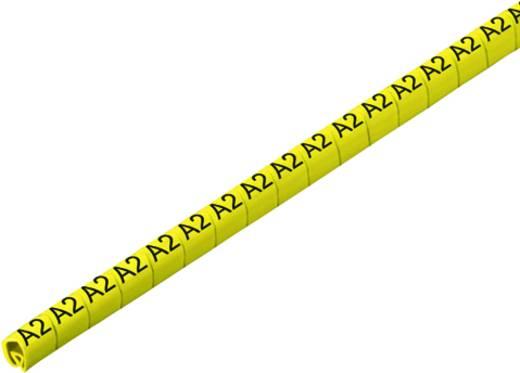 Kennzeichnungsring Aufdruck A2 Außendurchmesser-Bereich 3 bis 5 mm 1868811727 CLI C 1-6 GE/SW A2 CD Weidmüller