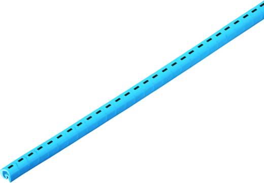 Kennzeichnungsring Aufdruck PE Außendurchmesser-Bereich 3 bis 5 mm 1868811733 CLI C 1-6 GE/SW PE CD Weidmüller