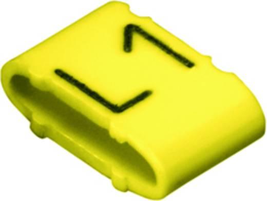Kennzeichnungsring Aufdruck L1 Außendurchmesser-Bereich 10 bis 317 mm 1871751728 CLI M 2-6 GE/SW L1 MP Weidmüller