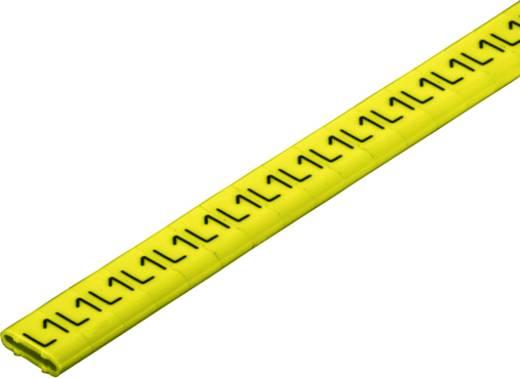 Kennzeichnungsring Aufdruck L1 Außendurchmesser-Bereich 10 bis 317 mm 1871781728 CLI M 2-6 GE/SW L1 CD Weidmüller