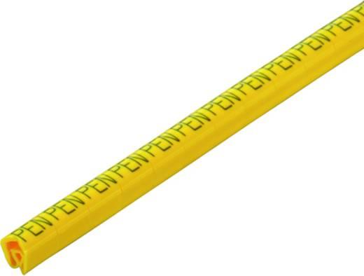 Kennzeichnungsring Aufdruck PEN Außendurchmesser-Bereich 4 bis 10 mm 1871971734 CLI C 2-9 GE/SW PEN CD Weidmüller