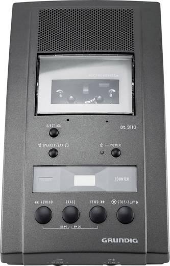 Analoges Diktiergerät Grundig Business Systems Dt 3110 Schreibplatz Set Schwarz