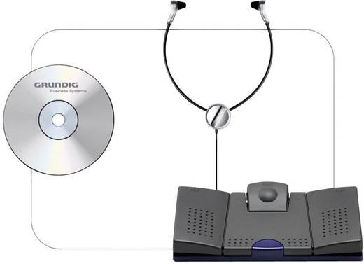 Digitalgerät-Zubehör Grundig Business Systems Kit de démarrage Digta Transcription 568 Schwarz KDC5670-12