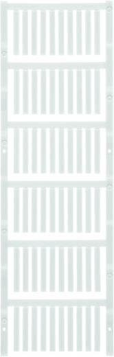 Gerätemarkierung Montage-Art: aufschieben Beschriftungsfläche: 30 x 4 mm Passend für Serie Weidmüller TM-H Hülsen Weiß W