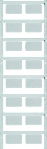Gerätemarkierung Montage-Art: aufclipsen Beschriftungsfläche: 49 x 15 mm Passend für Serie Schilderrahmen Silber Weidmül
