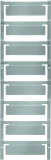 Gerätemarkierung Montageart: aufclipsen Beschriftungsfläche: 60 x 15 mm Passend für Serie Schilderrahmen Silber Weidmüll