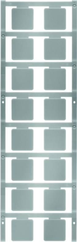Repérage d'appareils Weidmüller SM 22/22 K MC NEUTR. SI 1877590000 Surface de marquage: 22 x 22 mm argent 80 pc(s)