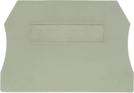 Abschlussplatte WAP WTL4/2 1881640000 Weidmüller 50 St.