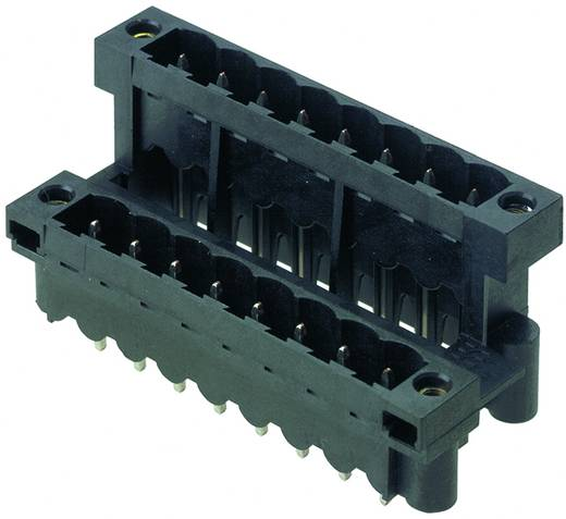 Leiterplattensteckverbinder SLDV-THR 5.08/40/180FLF 3.2SN BK BX Weidmüller Inhalt: 10 St.