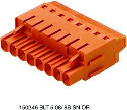 Boîtier pour contacts femelles série BL/SL 5.08 Weidmüller BLT 5.08/18/180LR SN OR BX 1890380000 Nbr total de pôles 18 P