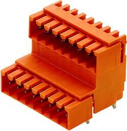 Barrette mâle encastrable (standard) Weidmüller SLD 3.50V/18/90G 3.2SN OR BX 1890620000 Nbr total de pôles 18 Pas: 3.50