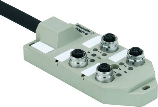 Sensor-/Aktorbox SAI-4-M 5P M12 ECO UT Weidmüller Inhalt: 2 St.