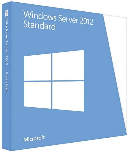 Windows Server 2012 Standard, x64, 2CPU/2VM, OEM, DEU