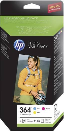 HP Tintenpatronen Kombi-Pack 364 Cyan;Magenta;Gelb CH082EE
