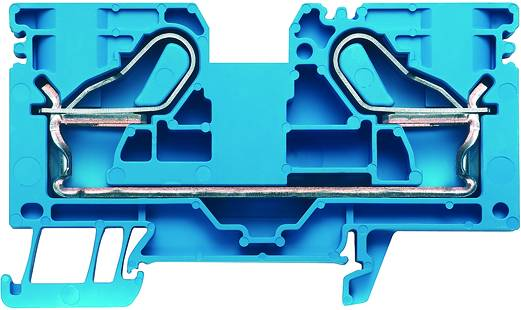 NEU Durchgangs-Reihenklemme ZDU 6 BL blau