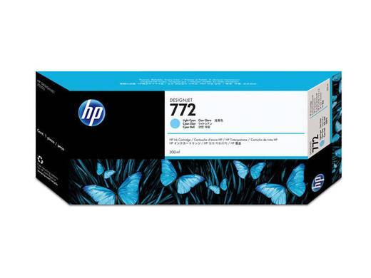 HP Tinte 772 Original Hell Cyan CN632A