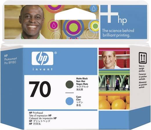 HP Druckkopf 70 Original Matt Schwarz, Cyan C9404A