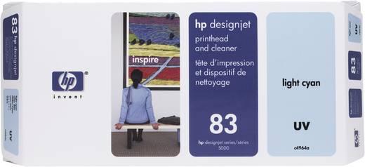 HP Tinten-Druckkopf 83 Hell Cyan C4964A
