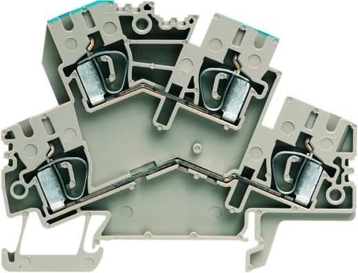 Doppelstock-Reihenklemme ZDK 4-2/N/L Weidmüller Inhalt: 50 St.