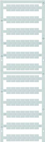 Repère de bornes MultiCard Weidmüller WS 12/8 PLUS MC NE WS 1906000000 blanc 420 pc(s)
