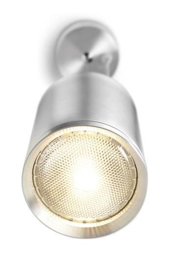 Pendelleuchte Halogen E27, PAR30 75 W Macra 28100C Silber-Grau