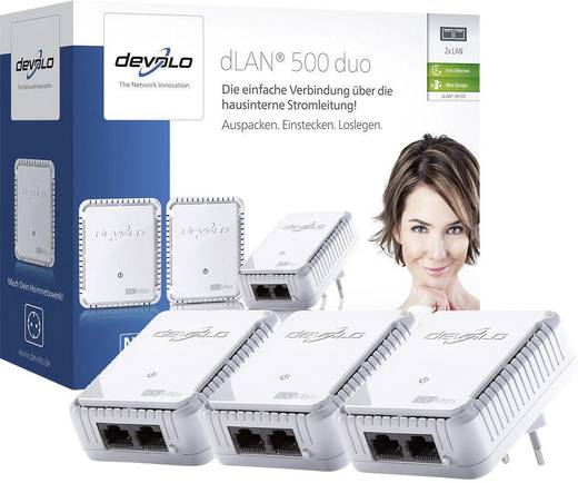 Powerline Network Kit 500 MBit/s Devolo dLAN® 500 duo