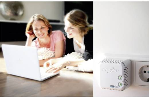 Devolo dLAN® 500 WiFi Powerline WLAN Einzel Adapter 500 MBit/s