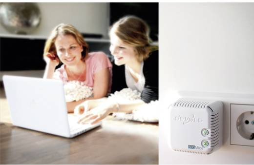 Powerline WLAN Einzel Adapter 500 MBit/s Devolo dLAN® 500 WiFi