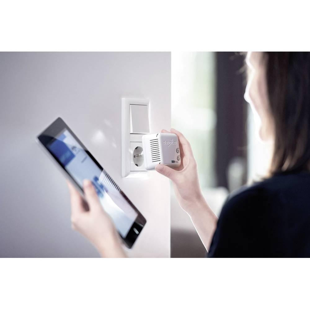 kit r seau cpl wifi devolo dlan 500 wifi 500 mo s sur le site internet conrad 365017. Black Bedroom Furniture Sets. Home Design Ideas