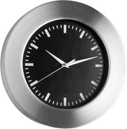 Quartz nástěnné hodiny TFA 98.1048.01, hliník (kartáčovaný)
