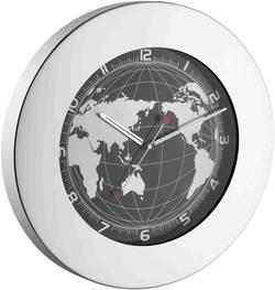 Quartz nástěnné hodiny TFA 60.3006, nerezová ocel